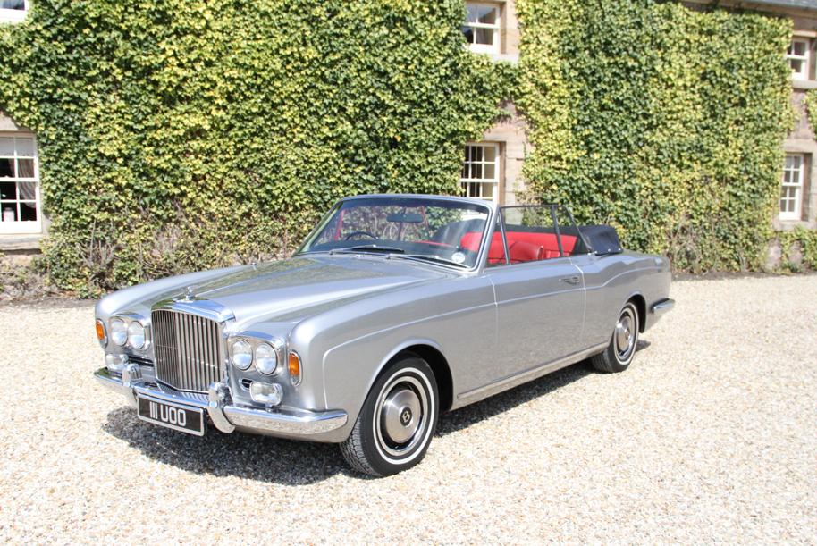 Luxury Wedding Car Hire Edinburgh